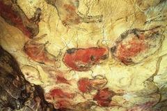 (1-13) Bison  Altamira, Spain  12,500 BCE