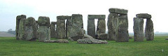 (1-20) Stonehenge from the Air (1-21) Stonehenge from the Ground  Salisbury Plain in Wiltshire, England  2,900-1,500 BCE