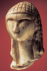 (1-9) Woman from Brassempouy France 30,000 BCE