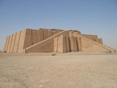 12. White Temple and its Ziggurat Location: Uruk (modern-day Warka, Iraq) Artist: N/A Date: c. 3,500-3,000 B.C.E Culture: Sumerian (Mesopotamian) Period/Style: Ancient Near East Medium/Material: Mud brick Theme(s): religion, worship Form: Formed to be a large place of worship. Probably, the color was intended to be a different color from the earth to distinguish it. Function: A temple; a meeting place for gods and humans Content: A sandy-colored temple that is decorated with reliefs, carvings, and other types of designs. Context: Statues for gods and donors were placed inside temples. Dedicated to Inanna (goddess of love and war) and to Anu (sky god)