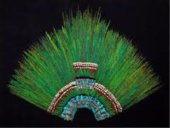 158. Ruler's feather headdress