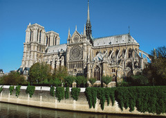 16-5 CATHEDRAL OF NOTRE-DAME, PARIS (Gothic art, 1150-1400)