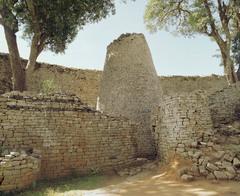 167. Conical Tower + circular wall of Great Zimbabwe
