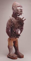 172. Power Figure (Nkisi n'kondi)