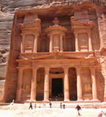 181. Petra, Jordan: Treasury and Great Temple
