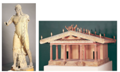 31. Temple of Minerva and sculpture of Apollo