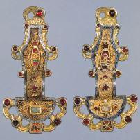 53. Merovingian looped fibulae