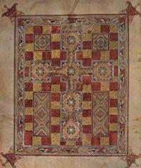 55. Lindsfarne Gospels