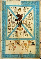 81. Frontispiece of the Codex Mendoza
