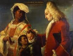 97. Spaniard and Indian Produce a Mestizo