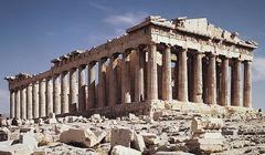 Acropolis, Athens, Greece. Iktinos and Kallicrates. c. 447-410 bce. Marble