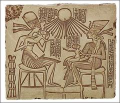 Akhenaton and Family (New Kingdom)  (Egypt)
