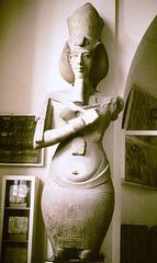 Akhenaton Pillar Statue