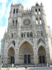 Amiens Cathedral, Amiens, France,Gothic Art