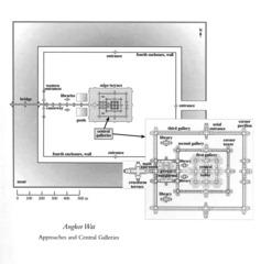 Angkor Wat plan