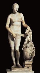 Aphrodite of Knidos (PRAXITELES) (Late Classical)  (Greece)