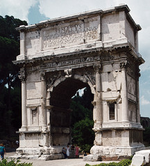 Arch of Titus (Early Empire)  (Rome)
