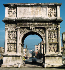 Arch of Trajan (High Empire)  (Rome)