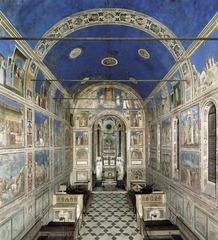 Arena Scrovegni chapel. Pudua, Italy. Unknown architect. Giotto...artist. chapel: c. 1303 : fresco: 1305.