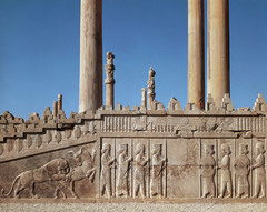 Audience Hall of Darius and Xerxes. Persepolis, Iran. Persian. c. 520-465 bce Limestone