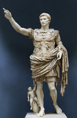 Augusta of Prima Posta. Imperial Roman. Early first century ce. Marble