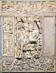 Barbernini Ivory (Early Byzantine)  (Byzantium)