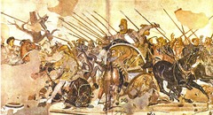 Battle of Issus, 100 BC, National Archaeological,Greek