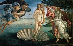 Birth of Venus by Sandro Botticelli, 1484-1486