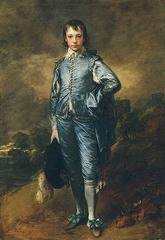 Blue Boy, Thomas Gainsborough, Huntington Library, San Morino, National Gallery London 1770,English Rococo Art