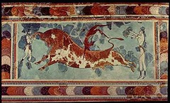 Bull-Leaping Fresco (Minoan)