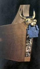 bull lyre (Sumerian)  (Ancient Near East)
