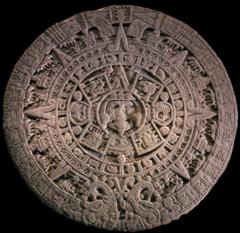 calendar stone. Temolo Mayor.