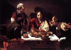 Caravaggio: Supper at Emmaus