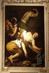 Caravaggio: The Crucifixion of Saint Peter