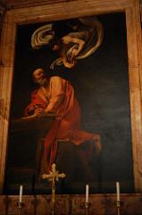 Caravaggio: The Inspiration of St. Matthew