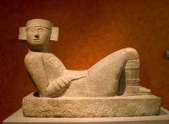 chacmool, Chichen Itza (Maya)  (Americas)