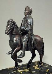 Charlamagne equestrian sculpture