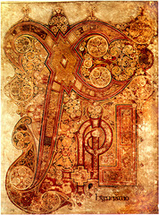 Chi Rho Iota page, Book of Kells