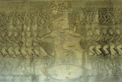 Churning of the Ocean of Milk Angkor Wat
