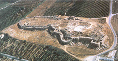 Citadel at Tiryns (Mycenean)