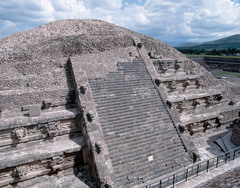 Citadel; Temple of the Feathered Serpant (Teotihuacan)  (Americas)