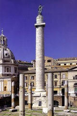 Column of Trajan, 112 CE, marble, Early Imperial Roman Art