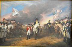 Continental Army: George Washington :: British Army :