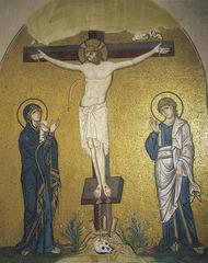 Crucifixion Mosaic, Daphni (Middle Byzantine)  (Byzantium)
