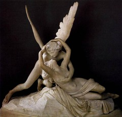 Cupid and Psyche by Antonio Canova, 1787-1793