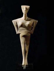 Cycladic Figurine of a Woman