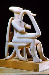 Cycladic male lyre player