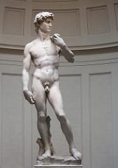 David by Michelangelo  Original Marble  1501-1504