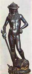 David. Donatello. 1440-1460 bronze