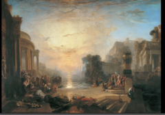 Decline of the Carthaginian Empire by J.M.W. Turner, 1817